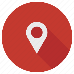 direction, gps, location, map, marker, pin, pointer icon