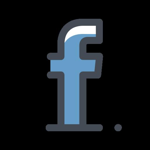 facebook, media, network, social, web icon