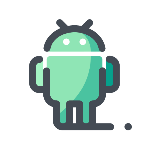 android device, media, network, social, web icon