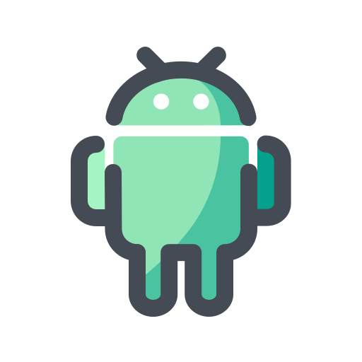 android, device, media, social, web icon