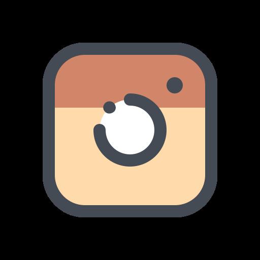 media, network, photo, social, video, web icon