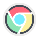 browser, chrome, media, network, social, web icon