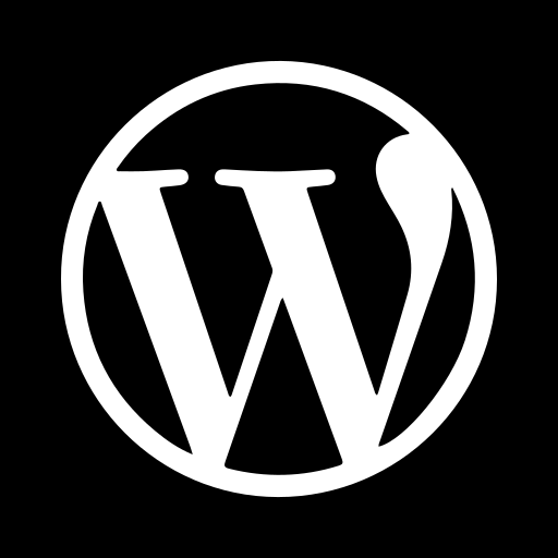 v2, wordpress icon