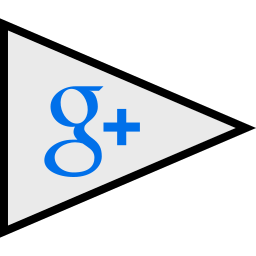 flags, google, logo, plus, social icon