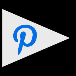 flags, logo, pinterest, social icon