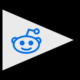 flags, logo, reddit, social icon