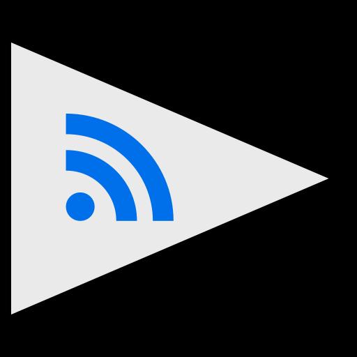 flags, logo, rss, social icon