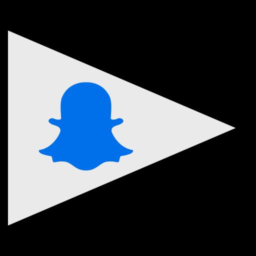 flags, logo, snapchat, social icon
