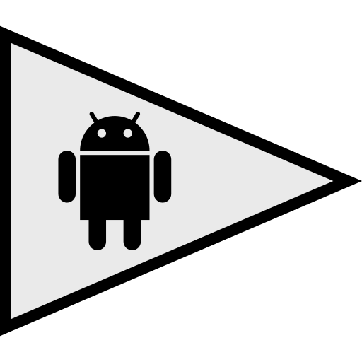 android, flags, logo, social icon