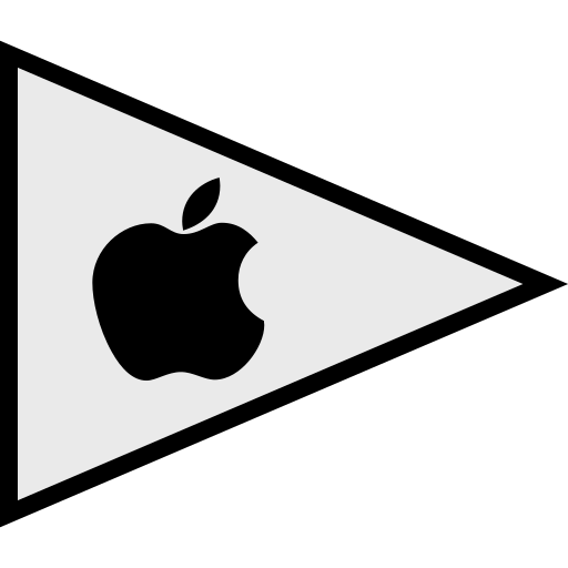 apple, flags, logo, social icon