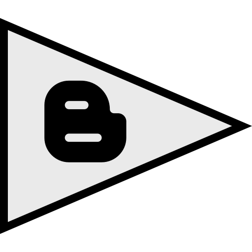 blogger, flags, logo, social icon