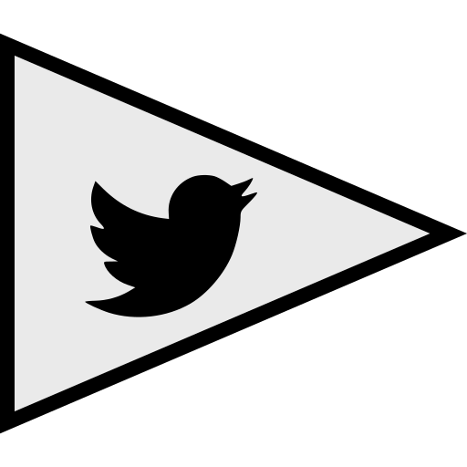 flags, logo, social, twitter icon