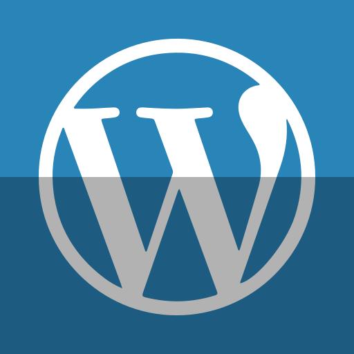 blog, wordpress icon
