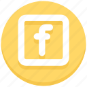 facebook, logo, social, social media icon