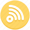 signals, social, wifi icon