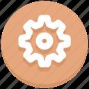 cogwheel, gear, option, settings icon