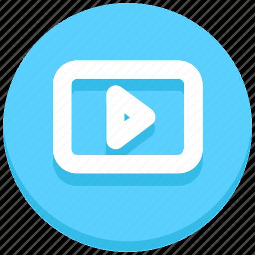 logo, media play, social, social media, youtube icon