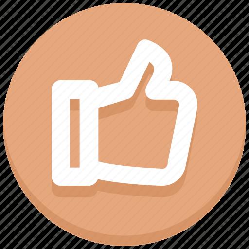 like, social media, thumb, up, vote icon