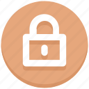 close, lock, logout, padlock icon
