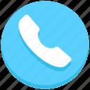 call, receiver, telephone
