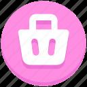 basket, cart, shopping, store icon