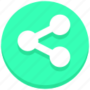 connect, link, share icon