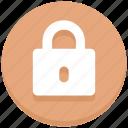 close, lock, logout, padlock icon