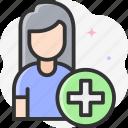 add friend, add user, follow, social media icon
