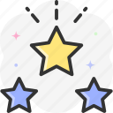 favorite, star, favorites, favourite, rate icon