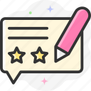 comment, edit, copywriting, write, message icon