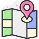 location pin, location pointer, location, map location, placeholder icon