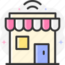 marketplace, shop, store, mobile store, shopping store icon