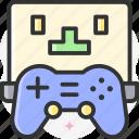 gamepad, gaming, video game, vr gaming, online game icon