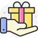 offer, surprise, black friday, gift, sale icon