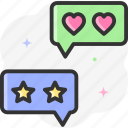 stars, feedback, good review, five stars, rating icon