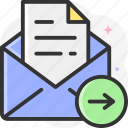 send, email, plane, mail, paper plane icon