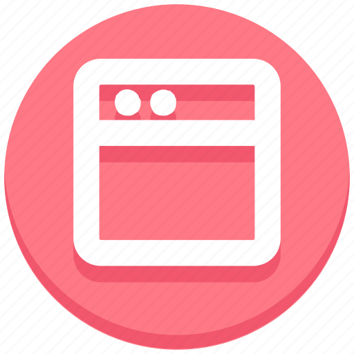 browser, social media, webpage, website icon