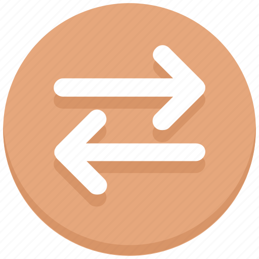 Arrows, left, right, sharing, transaction icon - Download on Iconfinder