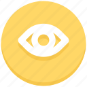 eye, view, vision icon