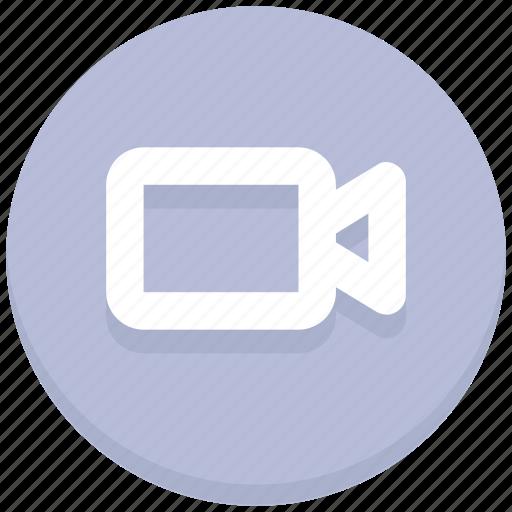 camera, media, recording, video camera icon