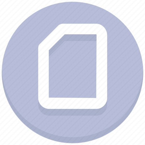 Blank, page, paper icon - Download on Iconfinder