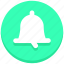 bell, notification, social media icon