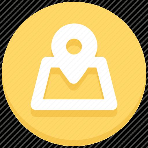 gps, location, map pin, navigation icon