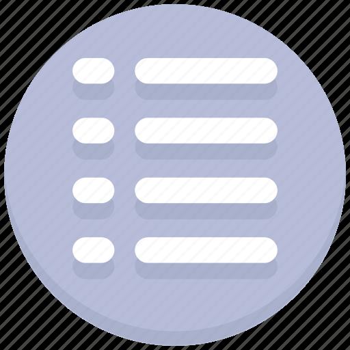 edit, list, task icon