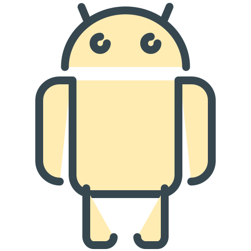 android, communication, firmware, media, mobile, phone, social icon