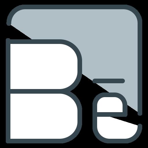 behance, communication, media, share, social icon