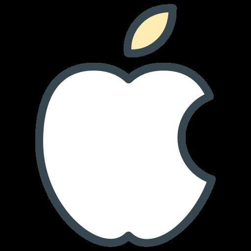 apple, communication, computer, mac, media, social icon
