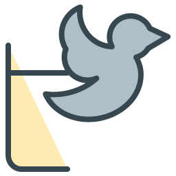 bird, communication, media, social, twitter icon