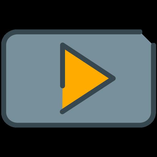 media, multimedia, play, social, video, youtube icon