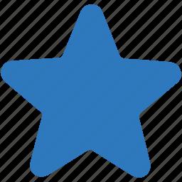 bookmark, favorite, star icon